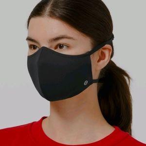 3 Lululemon Double Strap Face Mask